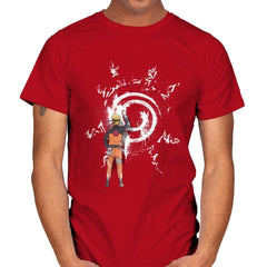 Graff Naruto - Mens - T-Shirts - RIPT Apparel