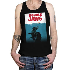 Double Jaws - Tanktop - Tanktop - RIPT Apparel