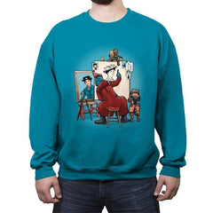 Triple Baby Sitter - Crew Neck Sweatshirt - Crew Neck Sweatshirt - RIPT Apparel