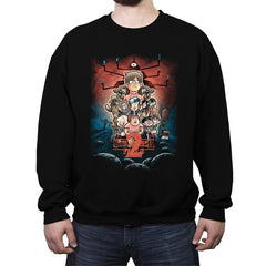 Stranger Falls Season 2 - Crew Neck Sweatshirt - Crew Neck Sweatshirt - RIPT Apparel