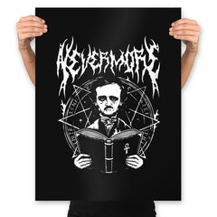 Rocking Nevermore - Prints - Posters - RIPT Apparel