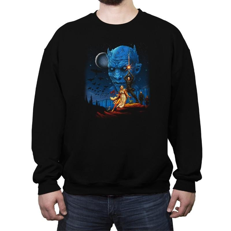 Throne Wars Reprint - Crew Neck Sweatshirt - Crew Neck Sweatshirt - RIPT Apparel