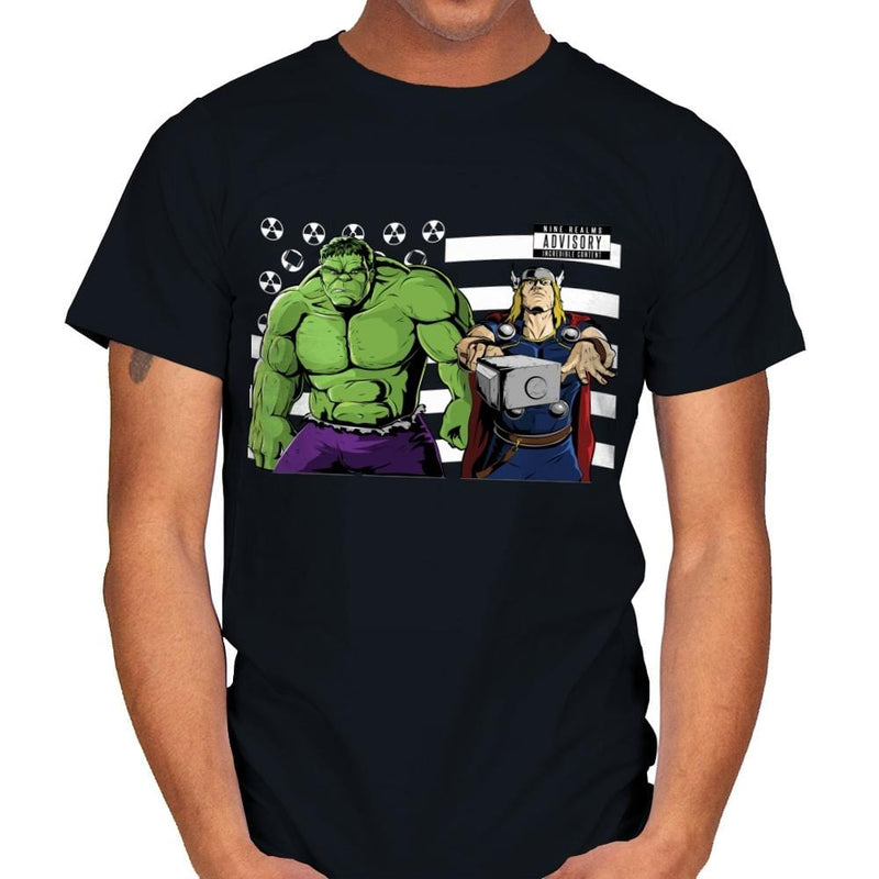 Bombs Over Asgard - Best Seller - Mens - T-Shirts - RIPT Apparel