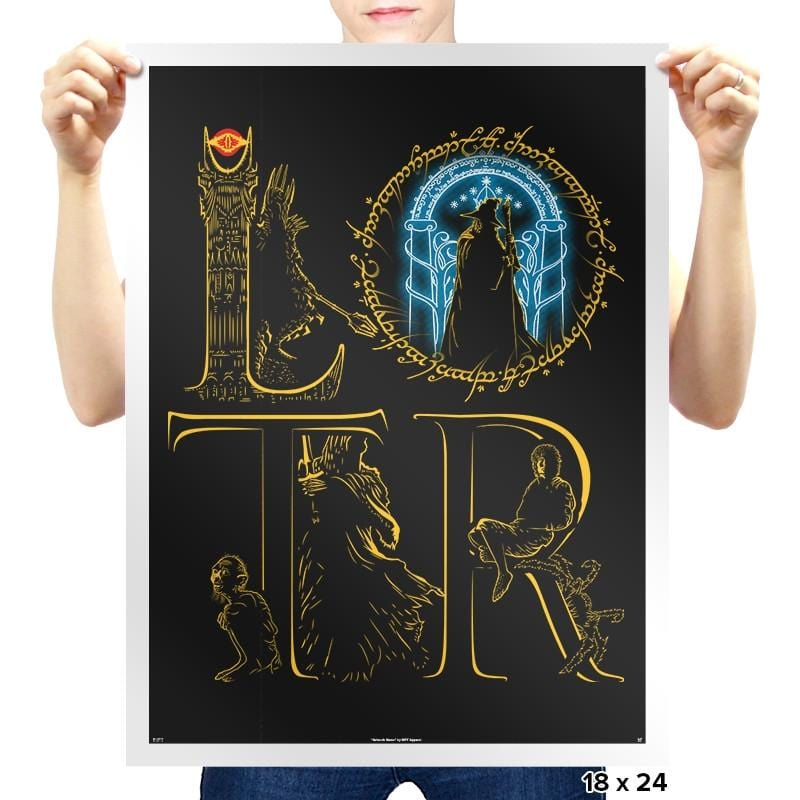 LOTR - Prints - Posters - RIPT Apparel