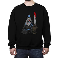 A Clockwork Slasher - Crew Neck Sweatshirt - Crew Neck Sweatshirt - RIPT Apparel