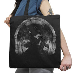 Headphones - Back to Nature - Tote Bag - Tote Bag - RIPT Apparel