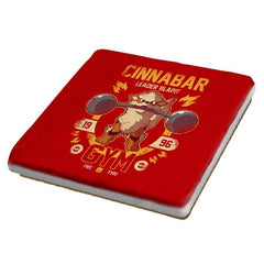 Cinnabar Gym - New Year's Evolutions - Coasters - Coasters - RIPT Apparel