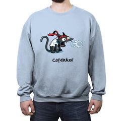 Catdouken - Crew Neck Sweatshirt - Crew Neck Sweatshirt - RIPT Apparel