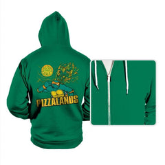 Pizzalands - Hoodies - Hoodies - RIPT Apparel