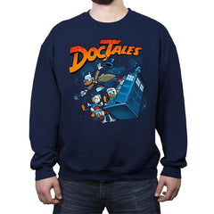 DocTales Reprint - Crew Neck Sweatshirt - Crew Neck Sweatshirt - RIPT Apparel
