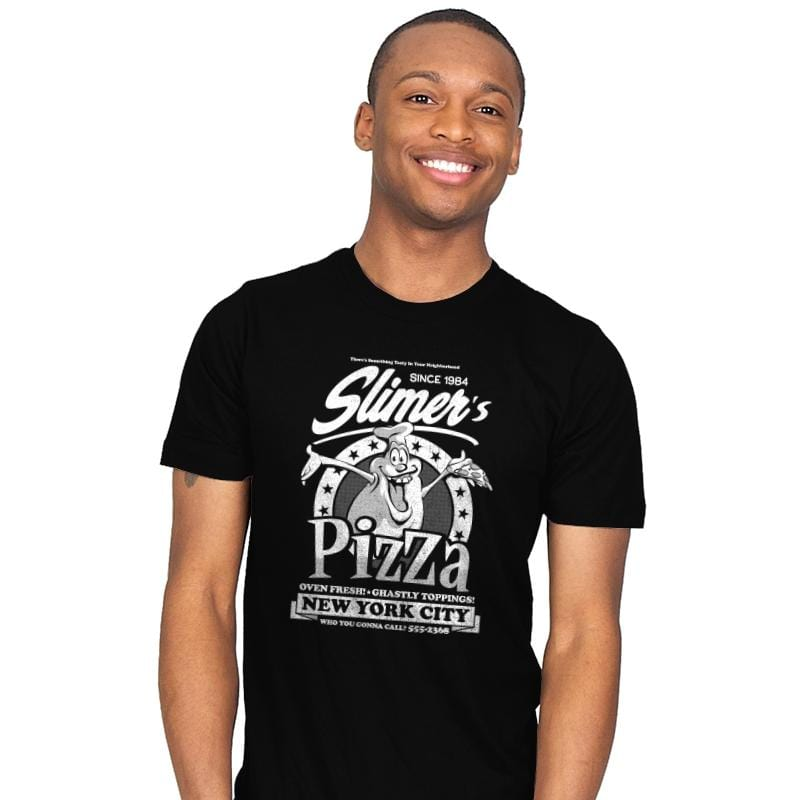 Slimer's Pizza - Mens - T-Shirts - RIPT Apparel