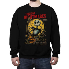 Trick or Nightmares - Crew Neck Sweatshirt - Crew Neck Sweatshirt - RIPT Apparel