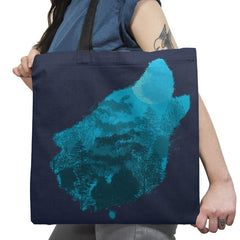Bark at the Moon - Back to Nature - Tote Bag - Tote Bag - RIPT Apparel
