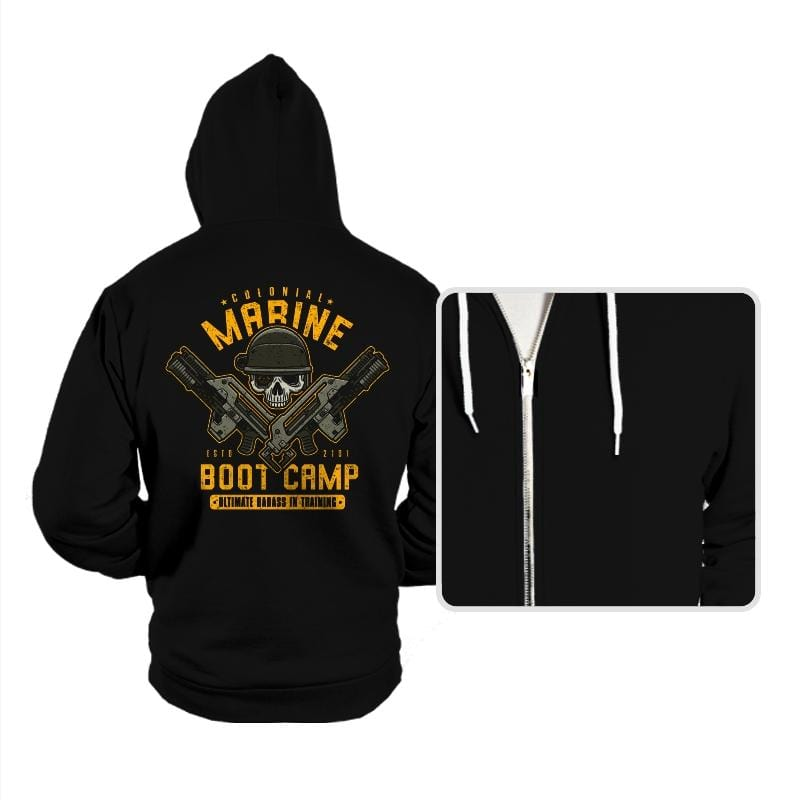 Colonial Marines Boot Camp - Hoodies - Hoodies - RIPT Apparel