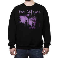The Vamp Slayer - Crew Neck Sweatshirt - Crew Neck Sweatshirt - RIPT Apparel