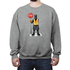 The Crossing Knight - Crew Neck Sweatshirt - Crew Neck Sweatshirt - RIPT Apparel