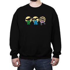 Dark Night Activities - Crew Neck Sweatshirt - Crew Neck Sweatshirt - RIPT Apparel