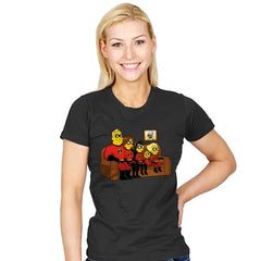Super Family - Womens - T-Shirts - RIPT Apparel