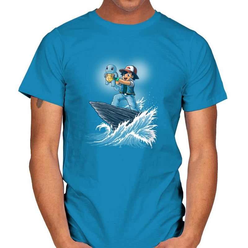 The Water King - Pop Impressionism - Mens - T-Shirts - RIPT Apparel
