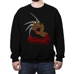 Nightmare Hand - Crew Neck Sweatshirt - Crew Neck Sweatshirt - RIPT Apparel