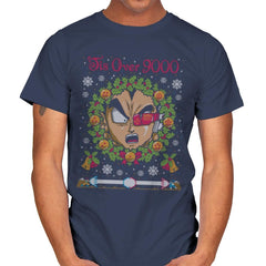 Tis' Over 9000 - Ugly Holiday - Mens - T-Shirts - RIPT Apparel