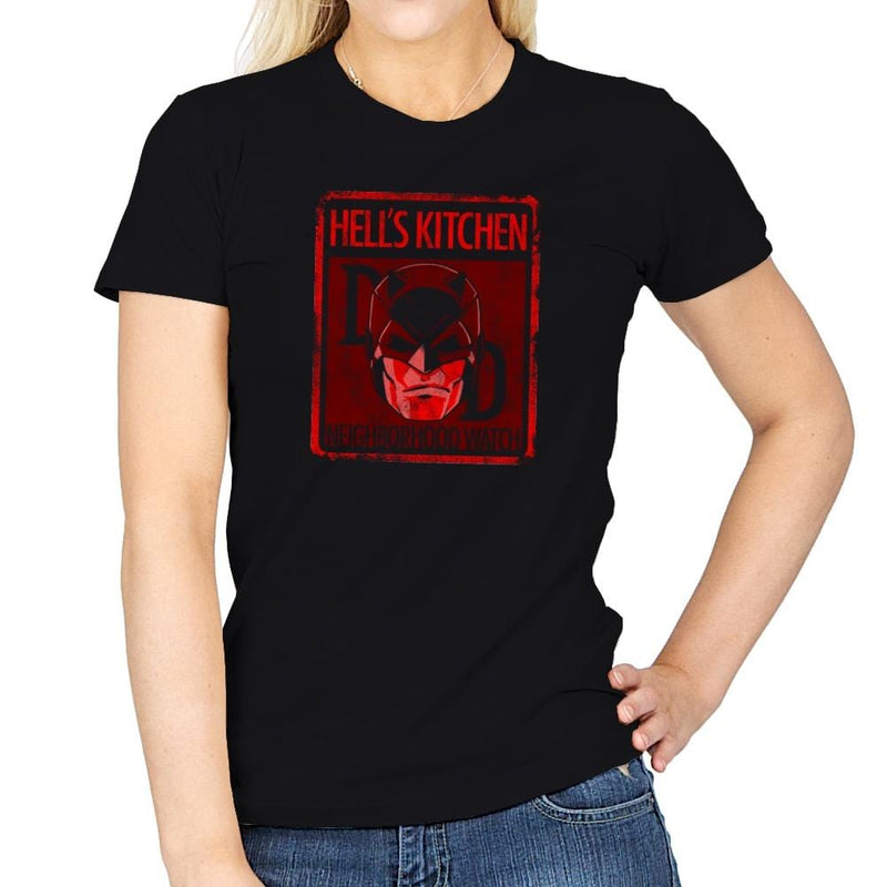 Hell's Kitchen Neighborhood Watch Exclusive - Womens - T-Shirts - RIPT Apparel