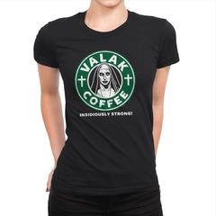 Valak Coffee - Womens Premium - T-Shirts - RIPT Apparel