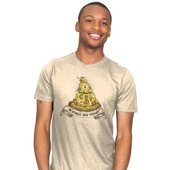 In Pizza We Trust - Mens - T-Shirts - RIPT Apparel