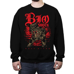 Big Holy Diver - Crew Neck Sweatshirt - Crew Neck Sweatshirt - RIPT Apparel