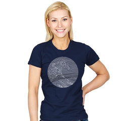The Great Wave of Pleasures - Womens - T-Shirts - RIPT Apparel