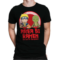Area 51 Ramen - Mens Premium - T-Shirts - RIPT Apparel