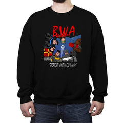 Straight Outta Goth - Crew Neck Sweatshirt - Crew Neck Sweatshirt - RIPT Apparel