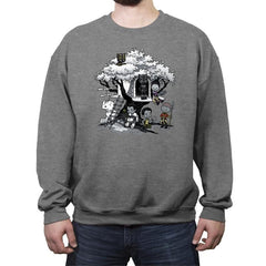 African Tree House - Crew Neck Sweatshirt - Crew Neck Sweatshirt - RIPT Apparel