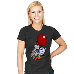 A Clockwork Clown - Womens - T-Shirts - RIPT Apparel