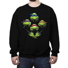 Turtle Rhapsody - Crew Neck Sweatshirt - Crew Neck Sweatshirt - RIPT Apparel