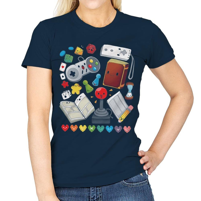 Game World - Womens - T-Shirts - RIPT Apparel