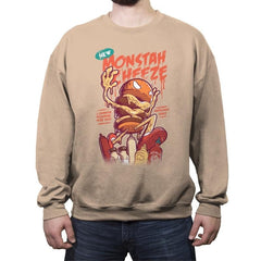 Monstah Cheeze - Crew Neck Sweatshirt - Crew Neck Sweatshirt - RIPT Apparel