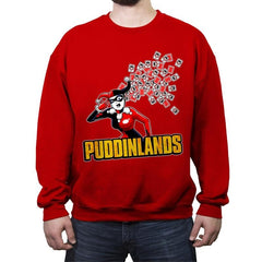 Puddinlands - Crew Neck Sweatshirt - Crew Neck Sweatshirt - RIPT Apparel