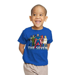 Cartoon Seven - Youth - T-Shirts - RIPT Apparel