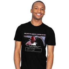 Galactic Quest Simulator - Mens - T-Shirts - RIPT Apparel