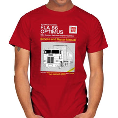 1984 Cab Repair Manual Exclusive - Shirtformers - Mens - T-Shirts - RIPT Apparel