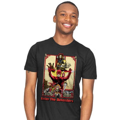 Enter the Defenders - Best Seller - Mens - T-Shirts - RIPT Apparel