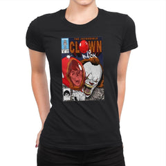 The Incredible Clown - Womens Premium - T-Shirts - RIPT Apparel