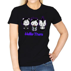 Emo Kitties - Womens - T-Shirts - RIPT Apparel