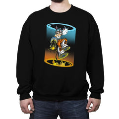 Mega Chell - Crew Neck Sweatshirt - Crew Neck Sweatshirt - RIPT Apparel