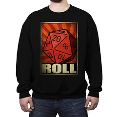 Roll The Dice - Crew Neck Sweatshirt - Crew Neck Sweatshirt - RIPT Apparel