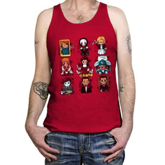 Horror Dolls - Tanktop - Tanktop - RIPT Apparel
