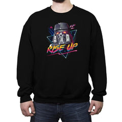 Rise Up - Crew Neck Sweatshirt - Crew Neck Sweatshirt - RIPT Apparel