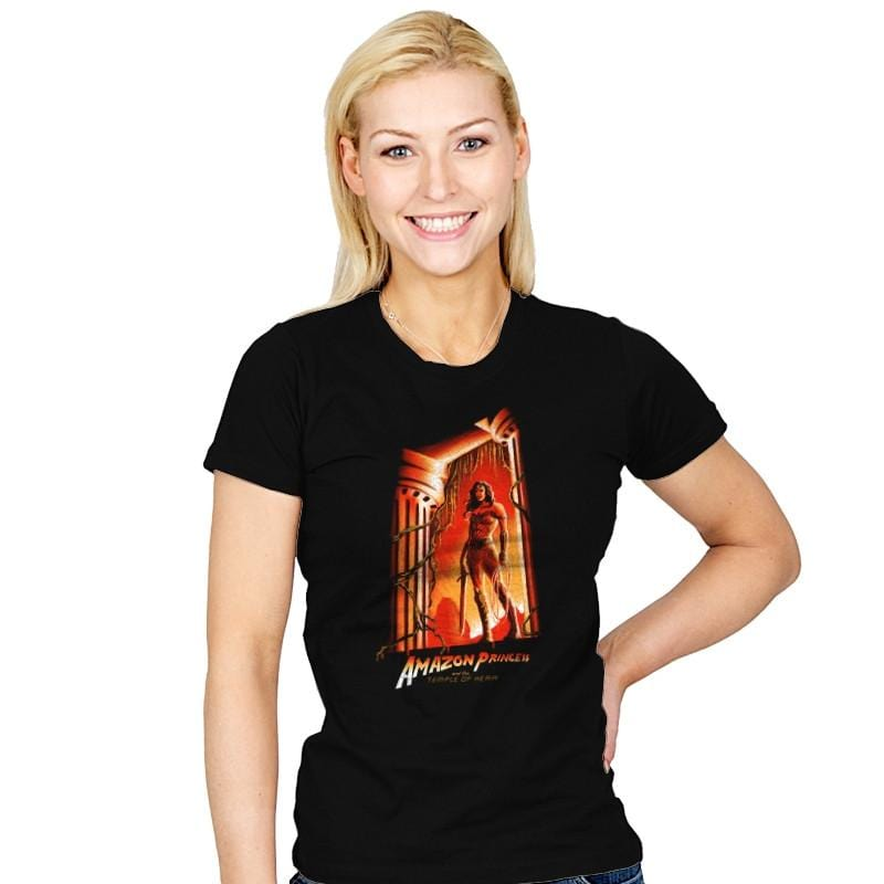 The Temple of Herra Exclusive - Wonderful Justice - Womens - T-Shirts - RIPT Apparel