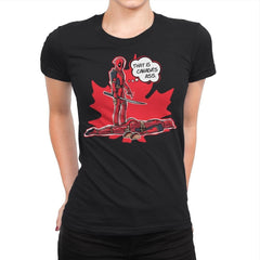 Canada's Ass - Womens Premium - T-Shirts - RIPT Apparel